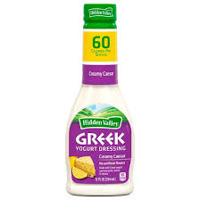 hidden valley greek yogurt dressing creamy caesar 12oz target
