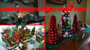 christmas 2016 decor house tour home in the country youtube