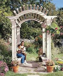Brilliant Garden Arbor Ideas How To Make Wood For Wedding Design - Backyard arbor design ideas
