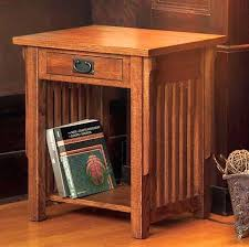 mission style console table mission oak end table home design ideas and pictures mission style