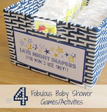 photo baby shower games lottery tickets image