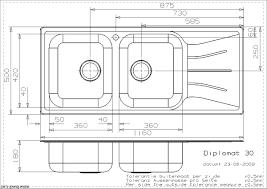 Kitchen Sink Sizes Standard Victoriaentrelassombrascom - Kitchen sink small size