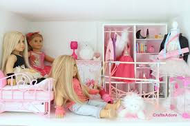 Dollhouse Bed For Girls by American Doll House Tour The Ballerina Themed Bedroom Hd