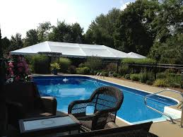 ludlow wedding by the pool michael u0027s party rentals inc