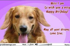 birthday pets cards free ecards greeting 123 happy dog images