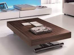coffee table extendable top furniture best veneered extendable coffee table for living area