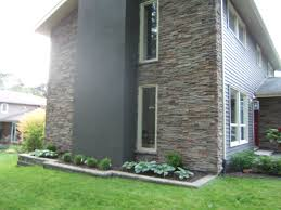 Barrie House Pro Fit Alpine Cultured Stone On A Barrie House Gives The Home An