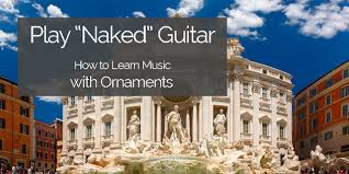 play leave out the ornaments at and learn tunes