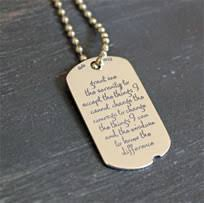 serenity prayer gifts god grant me the serenity christian