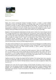 Here Methodology Leasing Vehicles With Effect From January 01 Nelson Plan Built Heritage Assessment Methodology Ann Mcewan Hcs U2026