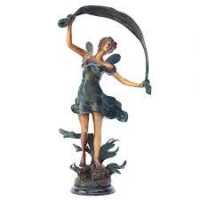 fairy garden statues store metal garden art