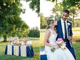 ivory door studio blog u2022a modern navy u0026 rose gold inspired wedding
