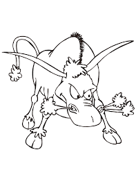 raging bull coloring sheets coloring pages coloring