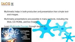 multimedia courses