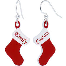 custom holiday christmas stocking personalized name fishhook