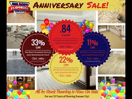 big bob s flooring outlet 33rd anniversary sale
