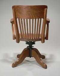 fauteuil de bureau basculant fauteuil de bureau de type américain vers 1930 joli modèle