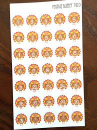 thanksgiving stickers turkey date cover planner stickers turkey stickers thanksgiving
