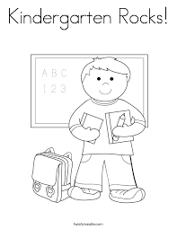 colouring pages kindergarten printable number writing