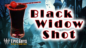 how to make a black widow shot halloween cocktail recipe epic