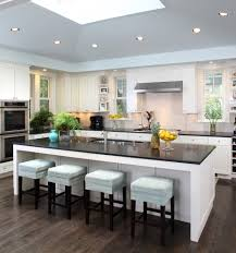 classy white rectangle shape kitchen island featuring white marble