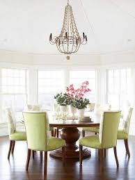 crystal home decor chandeliers design amazing transitional dining room using