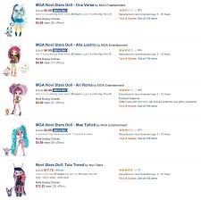 Sears Outlet Novi Hours by Mga Novi Stars Dolls Only 4 99 Each When You Spend 25 00 On