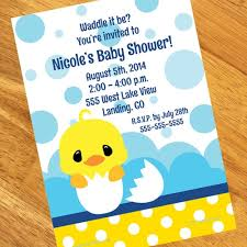 rubber duck baby shower ducky baby shower personalized invitations