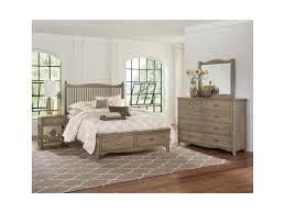 vaughan bassett american maple queen bedroom group johnny