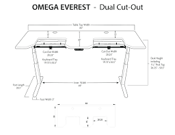 standard desk height articles with standard desk height inches tag superb typical desk large size standard