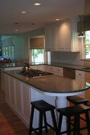 Kitchen Counter Top Design by Best 20 Round Kitchen Island Ideas On Pinterest Large Granite