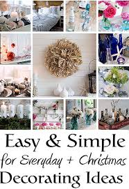 easy and simple decorating ideas
