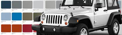 jeep wrangler paint codes wrangler paint codes cj pony parts