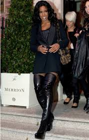 womens boots look thigh high boots give a contemporary and stylish look to