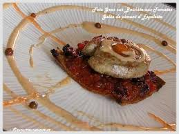cuisiner les airelles recette foie gras sur boukète d airelles et de tomates à la gelée