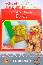 personalized christmas for kids b is 4 personalized kids christmas books giveaway
