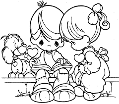valentine for kids coloring page free download