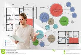 office floor plan sketch drawing concept stock image image 70786675