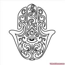 tribal hamsa tattoo design tattoo viewer com