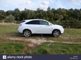 lexus rx white lexus rx 450h hybrid suv my 2009 white five doors 5d