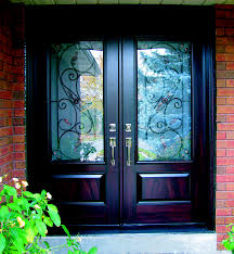 Exterior Steel Entry Doors With Glass Entrance Doors Fiberglass Vs Steel Entry Doors Fibertec