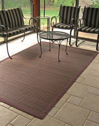 4 X 6 Outdoor Rug Floors Rugs Brown Bamboo 4x6 Rugs For Minimalist Living