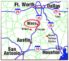 map waco the official ranger of fame and museum in waco