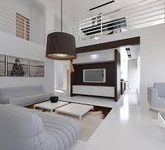 interior house designs with wooden decoration style fascinating drum pendant and white interior house designs plus modern living room design ideas and leather