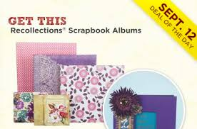 recollections photo albums 60 recollections scrapbook albums at today only