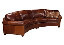 curved leather couch curved leather sofa