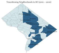 Map Of Washington Dc Neighborhoods by Gentrification Park View D C