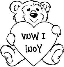 preschool valentine coloring pages coloring pages kids