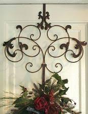 metal wreath door décor ebay