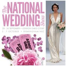 wedding show national wedding show 2012 ticket giveaway coordinated for you
